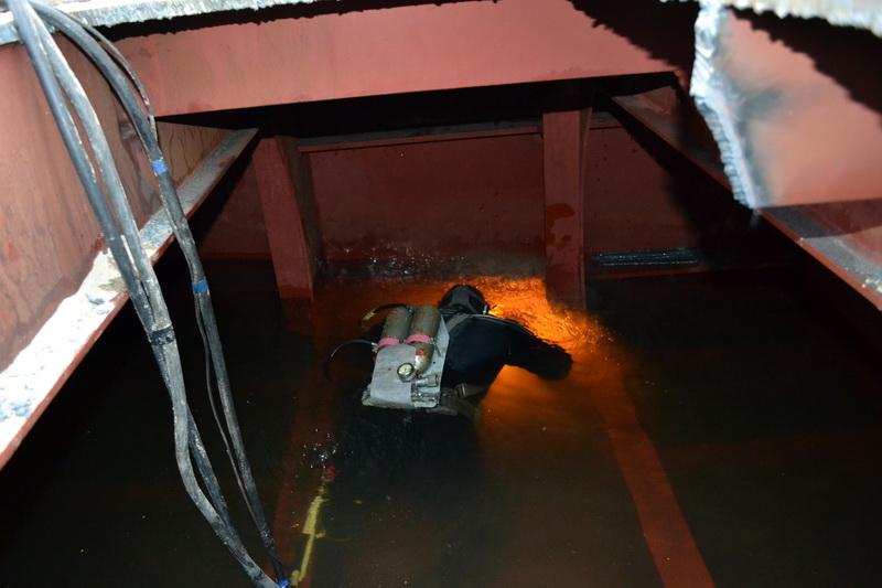 Подводная сварка и резка